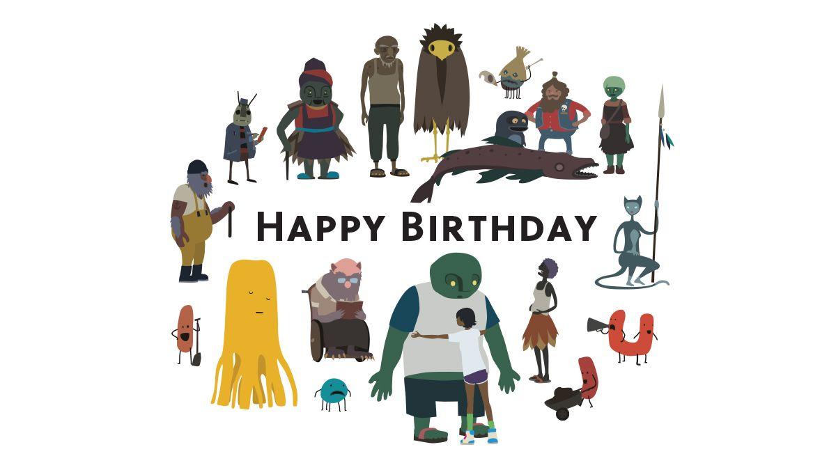 Happy Birthday Mutazione