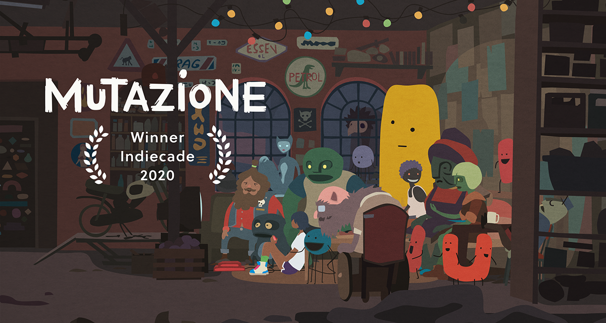 Mutazione wins 2020 Indiecade Grand Jury Prize!