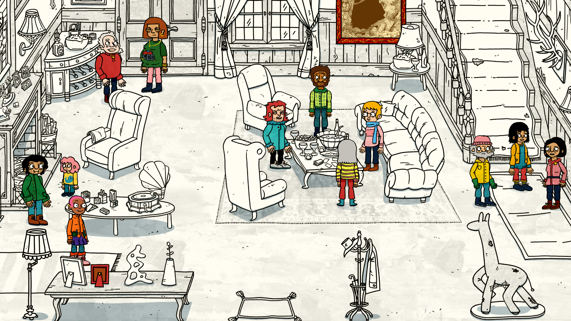 A press image from Welcome to Elk by fellow Danish developer Triple Topping.